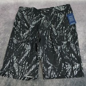 Kenneth Cole New York Palm Print Cargo Shorts Size